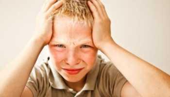 Легкое сотрясение детей симптомы