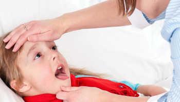 Симптомы лакунарной ангины детей