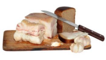 Польза и вред свиного соленого сала