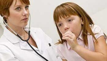 Лечение горла кашля детей